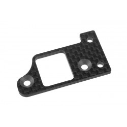 C-00130-093 Team Corally - Transponder Plate SSX-8X 3K Carbon 1 pc