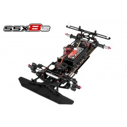 C-00131 Team Corally - SSX-8S Car Kit - Chassis kit only, no electronics, no motor, no body, no tires