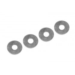 C-00140-039 Team Corally - Diff. Shim Rings - Steel - 3x9x0.4mm - 4 pcs