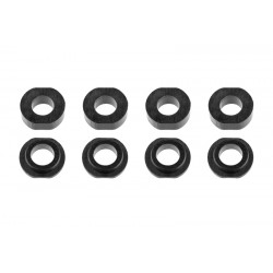 C-00140-062 Team Corally - Shock Body Washer Insert - Composite - Part A/B - 4 sets
