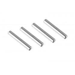 C-00140-091 Team Corally - Pin - Steel - 2x11mm - 4 pcs