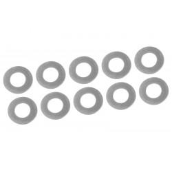 C-00180-204 Team Corally - Rondelles de calage - 6x11,5x0.2mm - Acier - 10 pcs
