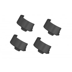 C-00250-043 Team Corally - Support de ressort d'amortisseur - 4 pcs