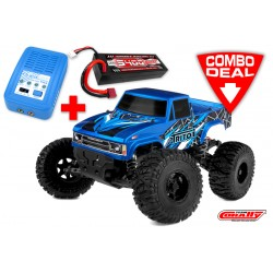 C-00250-C TRITON SP Combo - w/ LiPo Battery TC Power Racing 50C 2S 5400mAh - w/ Charger Pulsetec Mega 50 - w/ Charge Lead
