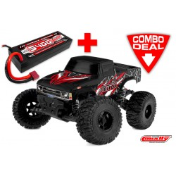 C-00251-C1 TRITON XP Combo - w/ LiPo Battery TC Power Racing 50C 2S 5400mAh