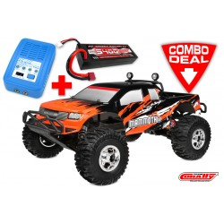C-00255-C MAMMOTH XP Combo - w/ LiPo Battery TC Power Racing 50C 2S 5400mAh - w/ Charger Pulsetec Mega 50 - w/ Charge Lead