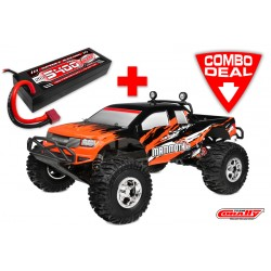 C-00255-C1 MAMMOTH XP Combo - w/ LiPo Battery TC Power Racing 50C 2S 5400mAh