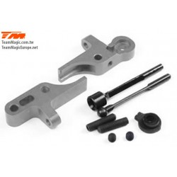 KF1406T Option Part - G4 - Alum. Front Anti-Roll Bar With Mounts Titanium