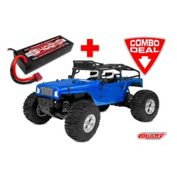 C-00256-C1 MOXOO SP Combo - w/ LiPo Battery TC Power Racing 50C 2S 5400mAh