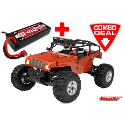 C-00257-C1 MOXOO XP Combo - w/ LiPo Battery TC Power Racing 50C 2S 5400mAh