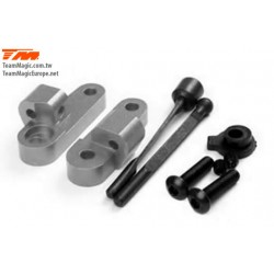 KF1407T Option Part - G4 - Alum. Rear Anti-Roll Bar With Mounts Titanium