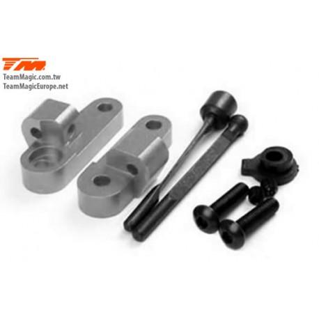 KF1407T Option Part - G4 - Alum. Rear Anti-Roll Bar With Mounts Titanium