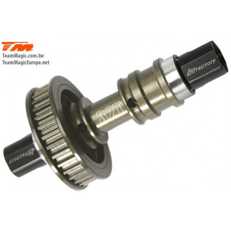 KF14108 Option Part - G4 - Alum. One Piece 32T Front One Way / Solid Axle Set