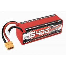 C-49429 Team Corally - Sport Racing 50C LiPo Battery - 5400mAh - 14.8V - Stick 4S - Hard Wire - XT90