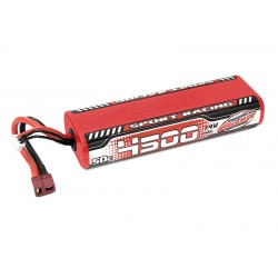 C-49440 Team Corally - Sport Racing 50C LiPo Battery - 4500mAh - 7.4V - Round 2S Stick - T-Plug