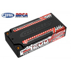 C-49500 Team Corally - Voltax 120C LiPo Battery - 4200mAh - 7.4V - LCG Shorty 2S - 4mm Bullit