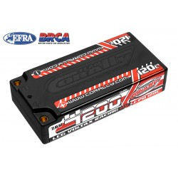C-49600 Team Corally - Voltax 120C LiPo HV Battery - 4200 mAh - 7.6V - LCG Shorty 2S - 4mm Bullit