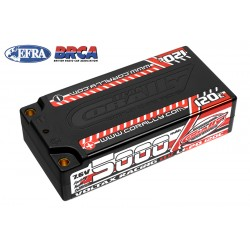 C-49605 Team Corally - Voltax 120C LiPo HV Battery - 5000 mAh - 7.6V - Shorty 2S - 4mm Bullit