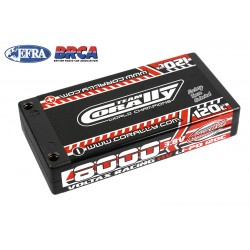 C-49635 Team Corally - Voltax 120C LiPo HV Battery - 8000 mAh - 3.8V - 1S Hardcase - 4mm Bullit