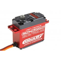 C-52001 Team Corally - CS-5226 HV High Speed Servo - High Voltage - Moteur Coreless - Pignonnerie Titanium