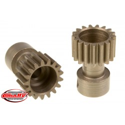 C-71117 Team Corally - 48 DP Pinion – Long Boss – Hardened Steel – 17 Teeth - ø3.17mm