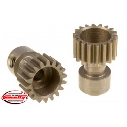 C-71118 Team Corally - 48 DP Pinion – Long Boss – Hardened Steel – 18 Teeth - ø3.17mm