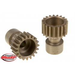 C-71119 Team Corally - 48 DP Pinion – Long Boss – Hardened Steel – 19 Teeth - ø3.17mm