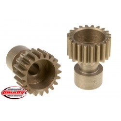 C-71120 Team Corally - 48 DP Pinion – Long Boss – Hardened Steel – 20 Teeth - ø3.17mm