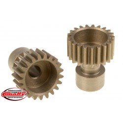 C-71121 Team Corally - 48 DP Pinion – Long Boss – Hardened Steel – 21 Teeth - ø3.17mm