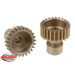 C-71124 Team Corally - 48 DP Pinion – Long Boss – Hardened Steel – 24 Teeth - ø3.17mm