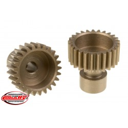 C-71125 Team Corally - 48 DP Pinion – Long Boss – Hardened Steel – 25 Teeth - ø3.17mm