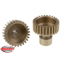 C-71127 Team Corally - 48 DP Pinion – Long Boss – Hardened Steel – 27 Teeth - ø3.17mm