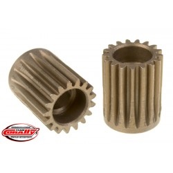 C-72417 Team Corally - 48 DP Pinion – Short – Hardened Steel – 17 Teeth - ø5mm