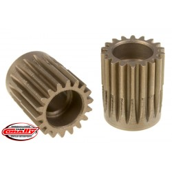 C-72418 Team Corally - 48 DP Pinion – Short – Hardened Steel – 18 Teeth - ø5mm