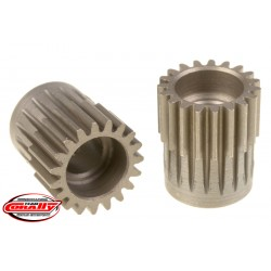 C-72419 Team Corally - 48 DP Pinion – Short – Hardened Steel – 19 Teeth - ø5mm