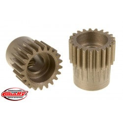 C-72421 Team Corally - 48 DP Pinion – Short – Hardened Steel – 21 Teeth - ø5mm