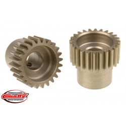 C-72424 Team Corally - 48 DP Pinion – Short – Hardened Steel – 24 Teeth - ø5mm