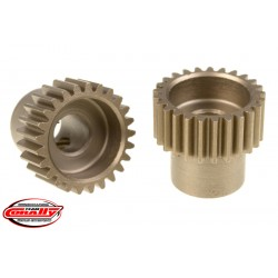 C-72425 Team Corally - 48 DP Pinion – Short – Hardened Steel – 25 Teeth - ø5mm