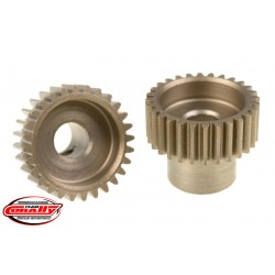 C-72428 Team Corally - 48 DP Pinion – Short – Hardened Steel – 28 Teeth - ø5mm