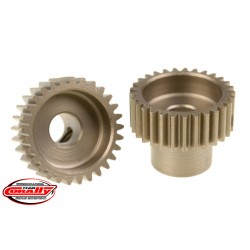 C-72429 Team Corally - 48 DP Pinion – Short – Hardened Steel – 29 Teeth - ø5mm