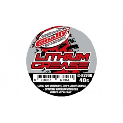 C-82700 Team Corally - Lithium Grease 25gr - Ideal for metal to metal application - Extreme friction reducer - Water repellant