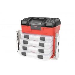 C-90251 Team Corally - Pit Case - Caisse à outils et de rangement - 4 tiroirs - Boites de rangement 3-21 compartiments
