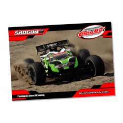 C-99802 Team Corally - Poster Shogun - Horizontal - 60x84cm