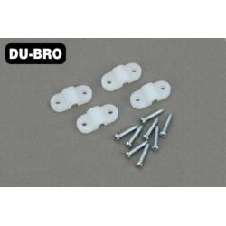 DUB239 Pièce d'avion - Supports de tringle de train d'atterrissage - 4mm (5/32) (4 pces)