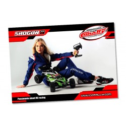 C-99803 Team Corally - Poster Shogun - Horizontal - 60x84cm