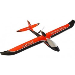 JOY6108V2O Airplane - RTF - Huntsman V2 Orange 1100mm Glider - 2.4G - J4C14 radio Mode 2 - with 7.4V 1200mAh LiPo