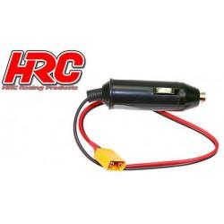HRC9308X Accessoire de chargeur - Adapteur allume-cigare 12V à prise XT60