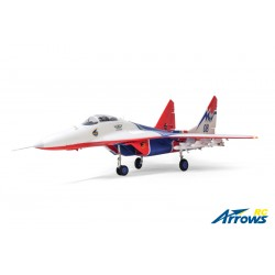AS-AH0013P Arrows RC - MIG-29 - Twin 64mm EDF - 906mm - PNP - w/ Electric Retracts