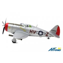 AS-AH001P Arrows RC - P-47 Thunderbolt - 980mm - PNP - w/ Electric Retracts