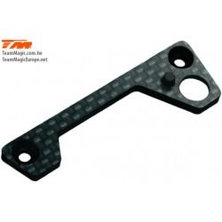 KF14131 Pièce Option - G4 - Renfort de support de barre anti-rouli arrière en carbon